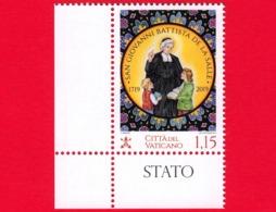 Nuovo - MNH - VATICANO - 2019 - 300 Anni Della Morte Di San Giovanni Battista De La Salle - 1.15 - Nuovi