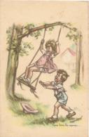 Illustrateurs >  Bouret Germaine :   Tiens Bons La Rampe   Réf 7457 - Bouret, Germaine