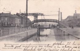 ECLUSES Marchienne Au Pont Ecluse Pont Sur Le Canal De Charleroi A Bruxelles - Otros