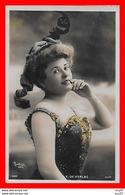 CPA  SPECTACLE.  Y. De VERLAC, Actrice. Photo Glacée Reutlinger...S513 - Artistes
