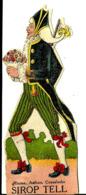 Marque Pages Découpé Sirop Pastilles Tell  B/1502 - Segnalibri