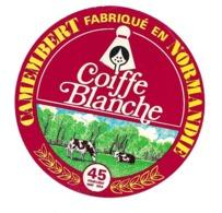 ETIQUETTE De FROMAGE..CAMEMBERT Fabriqué En NORMANDIE..Coiffe Blanche - Cheese