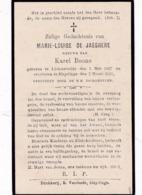 Lichtervelde, Sleidinge, 1925, Marie De Jaeghere, Boone - Imágenes Religiosas