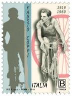 Italia Repubblica 2019 Fausto Coppi Euro 1,10 MNH** Integro - 6. 1946-.. Repubblica