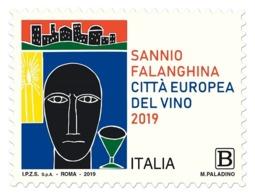 Italia Repubblica 2019 Sannio Falanghina Euro 1,10 MNH** Integro - 6. 1946-.. República