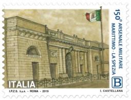 Italia Repubblica 2019 Arsenale Militare Marittimo Di La Spezia Euro 1,10 MNH** Integro - 6. 1946-.. República