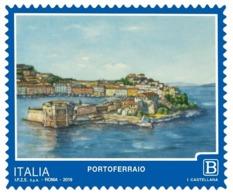 Italia Repubblica 2019 Serie Turistica Portoferraio Euro 1,10 MNH** Integro - 6. 1946-.. República