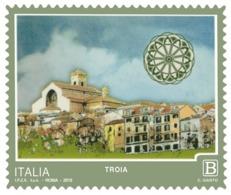 Italia Repubblica 2019 Serie Turistica Troia Euro 1,10 MNH** Integro - 6. 1946-.. República