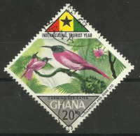 Ghana - 1967 Bee-eater 20np Used   Sc 317 - Ghana (1957-...)