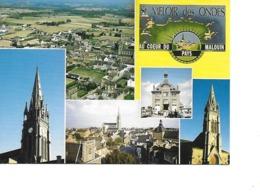 35 SAINT MELOIR DES ONDES Cpm Multivues - Francia