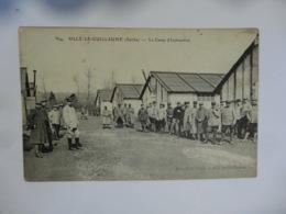 Ancienne CPA Camp D'instruction Sillè Le Guillaume - Casernes