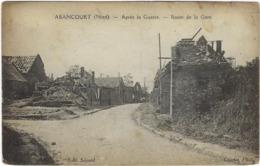 59  Abancourt  Apres La Guerre Route De La Gare - Frankrijk
