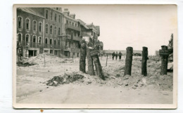 Carte Photo 62 : BERCK   L'entonnoir Ruines Après Guerre  A  VOIR  !!!!!! - Berck