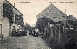 Belgique - Rochefort - Han-sur-Lesse - Une Rue à La Sortie De La Grotte - Rochefort