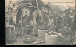 Viet - Nam --- Hanoi -- Ouvriers Fabriquant Le Papier Annamite - Vietnam