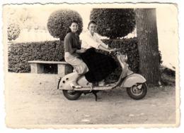 MOTO MOTORCYCLE LAMBRETTA - FOTO ORIGINALE ANNI '60 - Photos