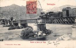 Italia - Ventimiglia - Ponte In Ferro Sul Roja - Imperia