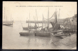 BELLE ILE EN MER 56 - LE PALAIS - Arrivée Des Bateaux De Pêche à La Cale - L'Abri Du Marin - A446 - Belle Ile En Mer