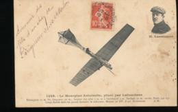 Le Monoplan Antoinette , Pilote Par Labouchere - Aviateurs