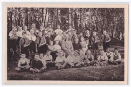 Dt.- Reich (002255) Propagandafotokarte HJ- Schulklasse Mit Pimpfen, Ungebraucht - Allemagne