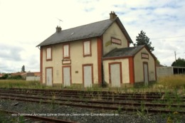 Paimboeuf (44)- Ancienne Gare Et Voies De Chemin De Fer (Tirage Limité) - Paimboeuf