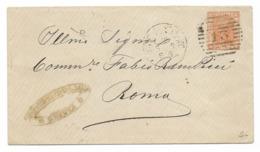 DA GENOVA A ROMA- 15.3.1879. - Marcofilía