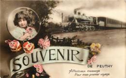 Vilvoorde - Peutie - Fantaisie Train - Souvenir De Peuthy - Vilvoorde