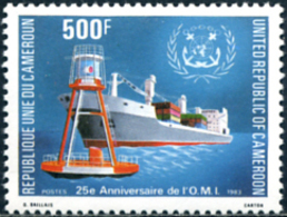 Ref. 255299 * NEW *  - CAMEROUN . 1983. 25TH ANNIVERSARY OF THE INTERNATIONAL MARITIME ORGANIZATION. 25� ANIVERSARIO DE - Kamerun (1960-...)