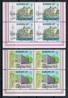 Gibraltar Y/T 530 / 531 (**) In Blok Van 4. - Gibraltar