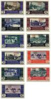 Ref. 595508 * HINGED *  - CAPE JUBY . 1948. BASIC SET. SERIE BASICA - Cabo Juby