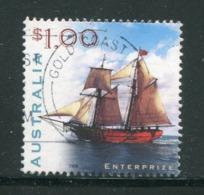 AUSTRALIE- Y&T N°1734- Oblitéré (bateaux) - 1990-99 Elizabeth II