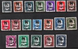 Surcharge 'Flemish Legion'  Sur Hitler (Guerre II) - Probablement Faux (Forgery) - Belgio