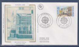 = Europa 1990 Enveloppe 79 Cerizay 28.4.90 N°2643 Bâtiment Postal Moderne De Cerizay - 1990