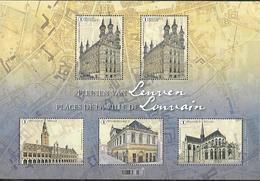 Belg. 2019 - Les Places De La Ville De Louvain ** - Nuovi
