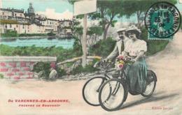 VARENNES EN ARGONNE - Recevez Ce Souvenir, Cart Fantaisie. - France
