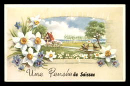 11 - SAISSAC - UNE PENSEE - CARTE FANTAISIE - Other Municipalities