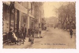 Le Teil: Rue De La République -  édition Nicolas - - Le Teil