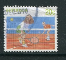 AUSTRALIE- Y&T N°1142- Oblitéré (tennis) - 1990-99 Elizabeth II