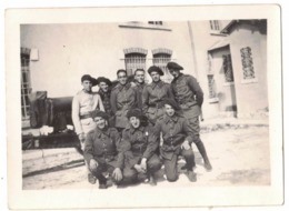 OCCITANIE HERAULT MONTPELLIER 1936 MILITARIA QUARTIER LEPIC CASERNE ARTILLERIE VERITABLE ORIGINAL PHOTO NON DENTELE SELO - Guerre, Militaire