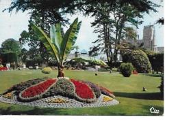 50 AVRANCHES Cpm Le Jardin Public - Avranches