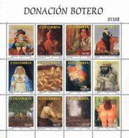 Ref. 367333 * NEW *  - COLOMBIA . 2001. DONATION BOTERO. DONACION BOTERO - Colombia