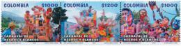 Ref. 116753 * NEW *  - COLOMBIA . 2003. CARNAVAL DE NEGROS Y BLANCOS - Colombia