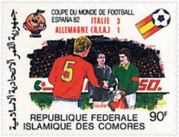 Ref. 339670 * NEW *  - COMORO Islands . 1982. FOOTBALL WORLD CUP. SPAIN-82. COPA DEL MUNDO DE FUTBOL. ESPA�A-82 - Comores (1975-...)