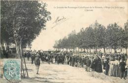 CPA 33 Gironde Blaye La Journée Des Patronages Catholiques De La Gironde 12 Juin 1905 L'Arrivée - Blaye