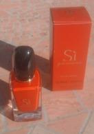 Flacon Si Passione - Parfum Giorgo Armani 30 Ml - Vide - Bottles (empty)