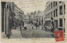 59  Avesnes Sur Helpe  Rue Victor Hugo  Et Cambresienne - Avesnes Sur Helpe