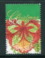 AUSTRALIE- Christmas Island Y&T N°466 Oblitéré (fleurs) - Ohne Zuordnung