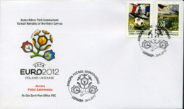 Ref. 345331 * NEW *  - CYPRUS. Turkish Adm. . 2012. EUROCOPA 2012 - Chipre (Turquía)