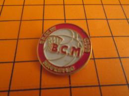 911b Pin's Pins : BEAU ET RARE : Thème SPORTS / BASKET-BALL BCN CLUB MAUREPAS - Basketbal