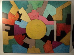 Composition Peinture Abstraite Abstrait Contemporain Abstract Painting Abstrakt - Acrilici